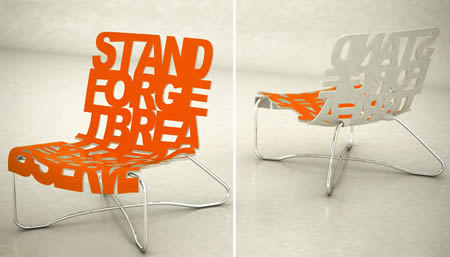 chair--typography